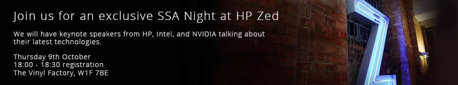 SSA Night at HP ZED