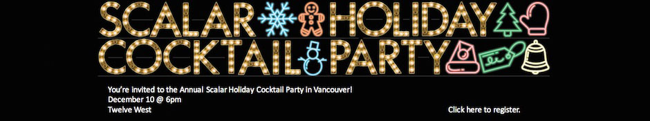 Scalar Holiday Cocktail Party