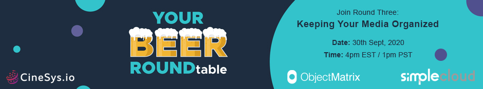 Your Beer ROUNDtable - Keeping Your Media Organized