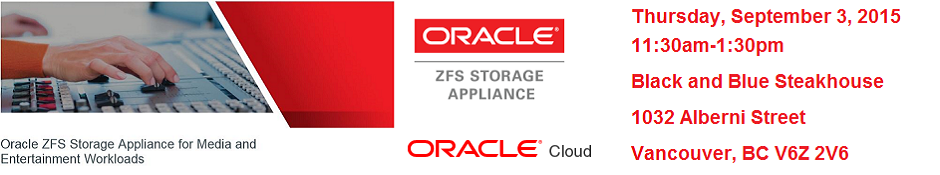 Steak & Storage w/Oracle