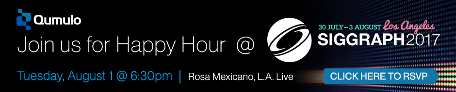 Qumulo & SSA Happy Hour at SIGGRAPH