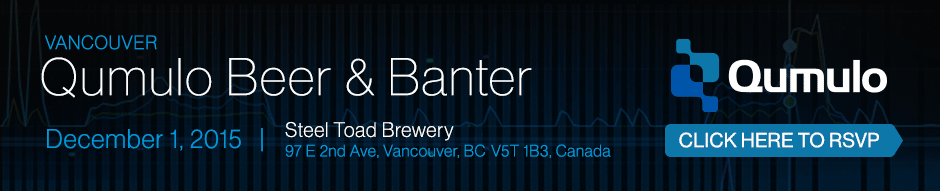 Qumulo Beer and Banter Vancouver