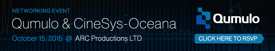 Qumulo/CineSys-Oceana Networking Event