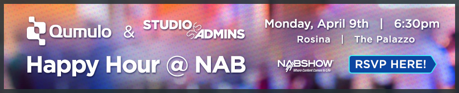 StudioSysAdmins + Qumulo Happy Hour @ NAB