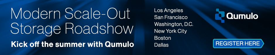 Qumulo Summer Road Show