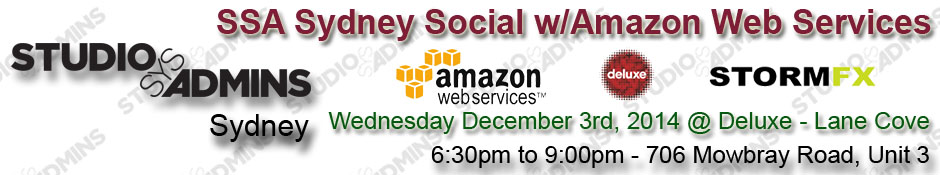 SSA Sydney Social w/Amazon Web Services