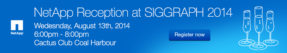 NetAPP Reception @ SIGGRAPH 2014